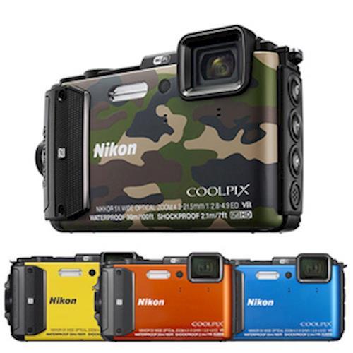 【副電等】Nikon COOLPIX AW130 防水數位相機*(中文平輸)