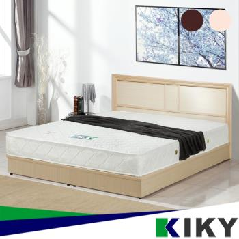 KIKY 凱莉5尺床頭片~100%台灣製造(胡桃/白橡)