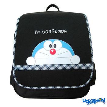 【哆啦A夢】日式護脊書背包(黑色)