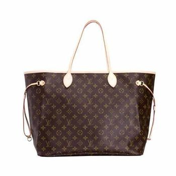 LV M40157 Neverfull Monogram 肩背購物袋