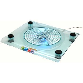 冷酷藍色LED筆電超大風扇散熱座(NCP-08)