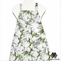 【M.B.H】綠葉仙境純棉防潑水圍裙