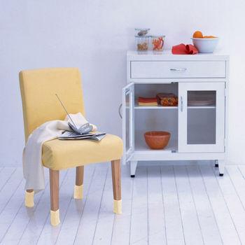【格藍傢飾】艾妮塔直立式椅腳套 (混款4入) 四組