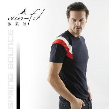 SANTO win-fit 微氣候運動衫-黑色