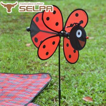 【韓國SELPA】繽紛飾品-瓢蟲風車