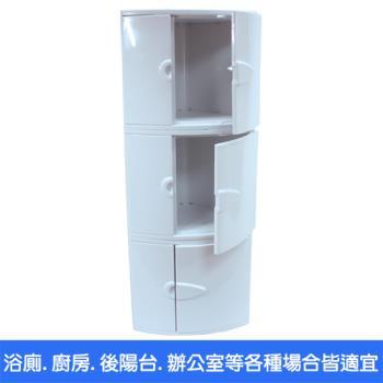 【將將好收納】衛浴收納角落置物櫃