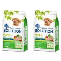 【SOLUTION】耐吉斯 幼犬 聰明成長配方 火雞肉+田園蔬菜 3公斤 X 2包