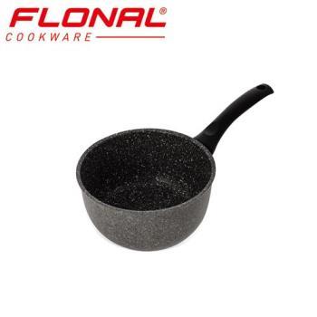 義大利Flonal 石器系列不沾單柄湯鍋16cm/1.5L