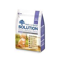 【SOLUTION】耐吉斯 成幼貓 精選鱒魚&深海鮭魚 低敏護毛 6磅 X 1包
