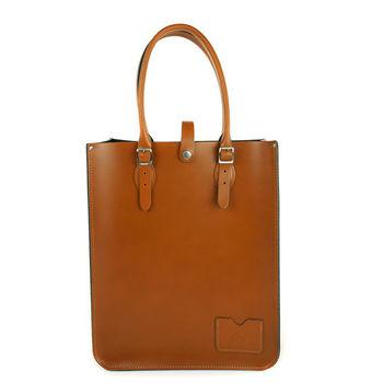 【The Leather Satchel Co.】英國原裝手工牛皮托特包 手提包 肩背包 (倫敦棕)
