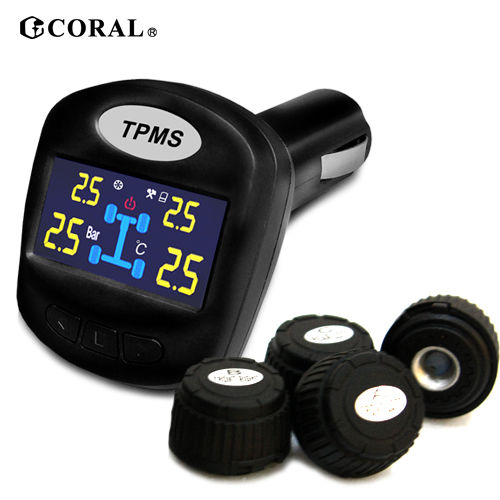 CORAL無線胎壓偵測器