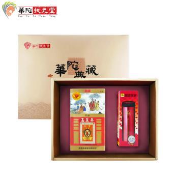 華陀扶元堂天官高麗蔘茶禮盒(高麗蔘茶包35入+鍋寶保溫杯x1)