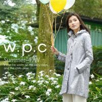 w.p.c.星星釦子款 時尚雨衣/風衣(R1032)-淺灰色