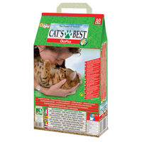 【CATS BEST】德國凱優 低粉塵細顆粒 凝結木屑砂-紅標10L X 1入