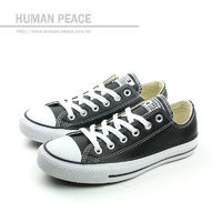 CONVERSE Chuck Taylor All Star Leather 休閒鞋 黑 男女款 no056