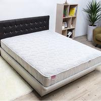 【H&D】 3M加厚款防潑水獨立筒床墊-雙人加大6尺