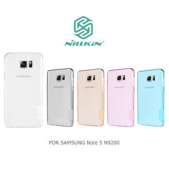 NILLKIN SAMSUNG Note 5 N9200/N9208 本色TPU軟套