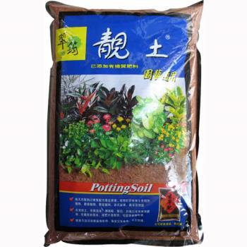 翠筠靚土培養土 添加有機質肥料 園藝通用-6公升