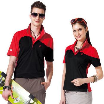 【SPAR】吸濕排汗短袖POLO衫(男SP48195、女SP47195)亮紅色