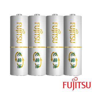 【日本Fujitsu富士通】AA 3號低自放電充電電池組(3號4入)