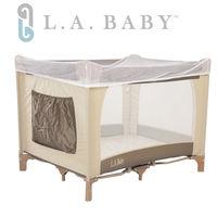【美國 L.A. Baby】攜帶式遊戲床