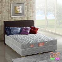 aie 竹碳+3M防潑水二線彈簧床墊(經濟型)-雙人5尺