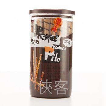 黑師傅捲心酥 200g x8罐-巧克力+草莓+花生