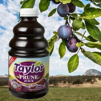 Taylor天然加州黑棗汁(946毫升/瓶) x3瓶