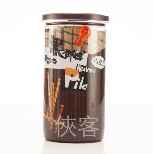 【黑師傅】捲心酥-巧克力口味 3罐組