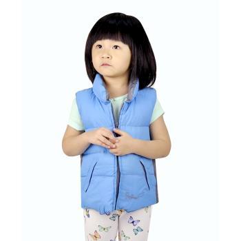 【FOX FRIEND】中性款式 兒童羽絨背心 雙面穿 (0124)