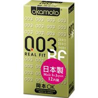 【okamoto岡本OK】保險套 003 RF極薄貼身 12片裝