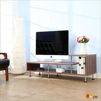 BuyJM 簡約時尚L造型電視櫃/電視架