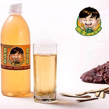 《苦主健康茶飲》養生靈芝茶(450ml/瓶,共六瓶)