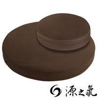 【源之氣】竹炭靜坐墊組合/大圓形+小圓加高(二色可選) RM-40124