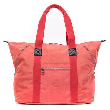 COUNT DUCK 美系悠活輕量肩背多造型托特包-CD-013-粉橘色