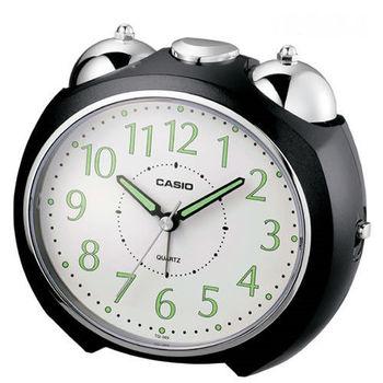 CASIO卡西歐‧圓弧流線外型鬧鐘 TQ-369