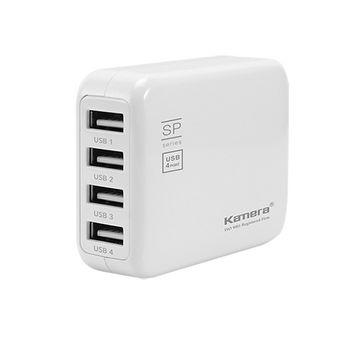 Kamera 4 Port USB 充電器 SP4U