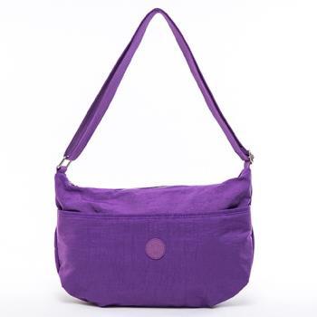 COUNT DUCK 美系悠活輕量百搭實用款側背包-CD-008-紫色