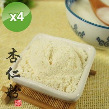 【北港農友】杏仁粉-4罐組 (300g/罐)