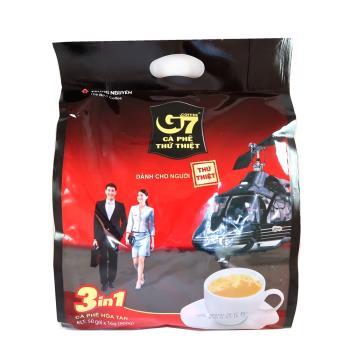 G7三合一即溶咖啡16g*300包(50包/袋,共6袋)