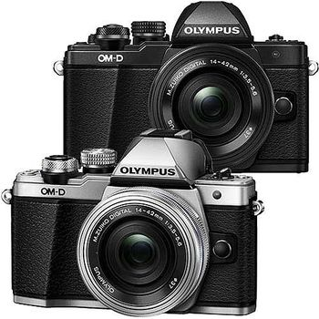 【高速64G+原電全配】OLYMPUS OM-D E-M10 Mark II 14-42mm 電動鏡組 (公司貨)-@