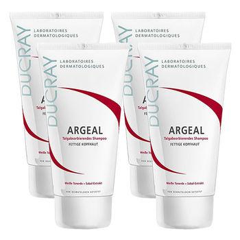 DUCRAY護蕾 鋸棕櫚控油洗髮霜(150ml) 4入特惠組