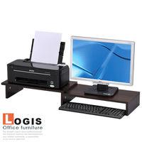 LOGIS邏爵~桌面螢幕伸縮架/展示架(兩色)LS-06