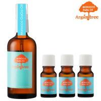 【Morocco GaGa Oil】摩洛哥秀髮油100ml(4款可選)+香水秀髮油10mlX3