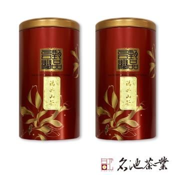 名池茶業 福壽梨山天池手採高山茶4罐組(台灣甄品款)