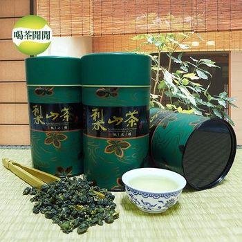 喝茶閒閒 嚴選梨山清香高山茶葉共8罐