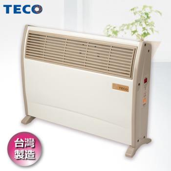 TECO東元浴室臥房兩用防潑水微電腦電暖器 YN2001CB