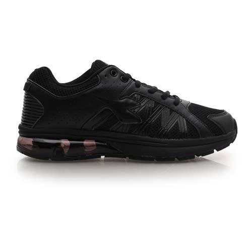 【DIADORA】男氣墊慢跑鞋-路跑 寬楦 運動鞋 休閒鞋 黑