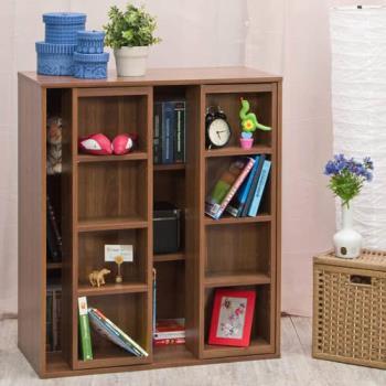 【尼克斯】雙排矮書櫃(雙色可選)