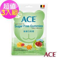 【ACE】無糖C+軟糖 3入組(240g/袋)